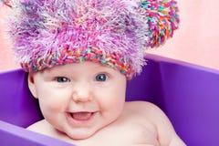 κιβώτιο μωρών λίγη γλυκιά βιολέτα στοκ φωτογραφία με δικαίωμα ελεύθερης χρήσης