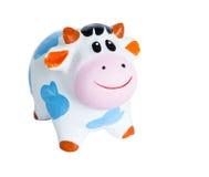 Κιβώτιο νομισμάτων αγελάδων μωρών στοκ φωτογραφία με δικαίωμα ελεύθερης χρήσης