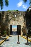 Κιβώτιο σκοπών σε Castillo SAN Felipe del Morro, San Juan Στοκ εικόνες με δικαίωμα ελεύθερης χρήσης