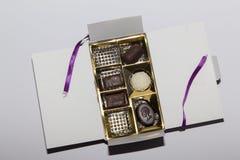 Κιβώτιο σοκολάτας Στοκ φωτογραφία με δικαίωμα ελεύθερης χρήσης