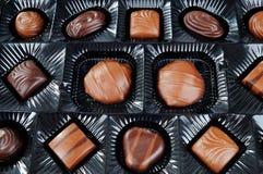 Κιβώτιο των σοκολατών στοκ εικόνα με δικαίωμα ελεύθερης χρήσης