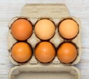 Κιβώτιο χαρτοκιβωτίων αυγών Στοκ φωτογραφία με δικαίωμα ελεύθερης χρήσης