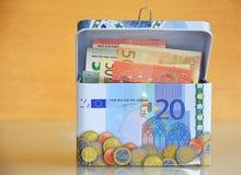 Κιβώτιο χρημάτων αποταμίευσης Στοκ Φωτογραφίες