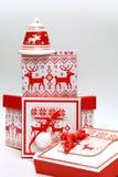 Κιβώτιο Χριστουγέννων Στοκ εικόνες με δικαίωμα ελεύθερης χρήσης