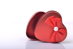 Κιβώτιο δώρων αγάπης Στοκ Εικόνες