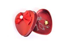Κιβώτιο δώρων αγάπης Στοκ εικόνες με δικαίωμα ελεύθερης χρήσης