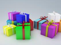 Κιβώτιο δώρων γενεθλίων Στοκ Εικόνα