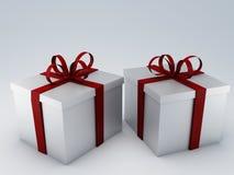 Κιβώτιο δώρων γενεθλίων Στοκ φωτογραφίες με δικαίωμα ελεύθερης χρήσης