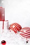Κιβώτιο δώρων Χριστουγέννων Στοκ Εικόνες