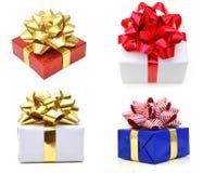 Κιβώτιο δώρων Χριστουγέννων Στοκ Φωτογραφίες