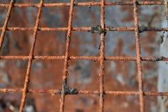 Κιγκλίδωμα χάλυβα Στοκ Φωτογραφία