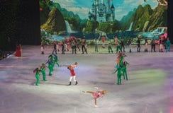 ΚΙΕΒΟ, ΟΥΚΡΑΝΙΑ: μπαλέτο πάγου Στοκ Εικόνες