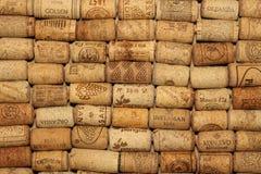 ΚΙΕΒΟ, ΟΥΚΡΑΝΙΑ - 18 ΦΕΒΡΟΥΑΡΊΟΥ: Το κρασί βουλώνει το εκδοτικό υπόβαθρο με τις πτώσεις του κρασιού στις 18 Φεβρουαρίου 2017 στο  Στοκ Φωτογραφία