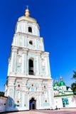 ΚΙΕΒΟ, UNKRAINE - 8 ΙΟΥΝΊΟΥ 2012: Άποψη του πύργου κουδουνιών καθεδρικών ναών Αγίου Sophia σε Kyiv Στοκ Εικόνα