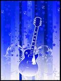 κιθάρα αναδρομική Στοκ φωτογραφίες με δικαίωμα ελεύθερης χρήσης