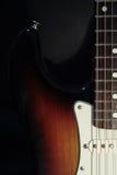 κιθάρα κιγκλιδωμάτων stratocaster Στοκ εικόνα με δικαίωμα ελεύθερης χρήσης