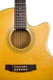 κιθάρα που απομονώνεται &al Στοκ Εικόνες