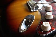 Κιθάρα που αποσυνδέεται ηλεκτρική Στοκ Φωτογραφία
