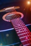 Κιθάρα στο επίκεντρο Στοκ φωτογραφία με δικαίωμα ελεύθερης χρήσης