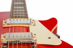Κιθάρα του Paul Les Στοκ φωτογραφίες με δικαίωμα ελεύθερης χρήσης