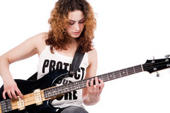 κιθάρα το παιχνίδι μου Στοκ Εικόνες