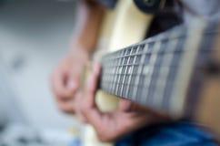 Κιθάρα φωτογραφικών διαφανειών Στοκ Φωτογραφία