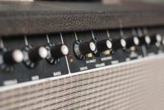 Κιθάρα amp και γρύλος Στοκ εικόνες με δικαίωμα ελεύθερης χρήσης
