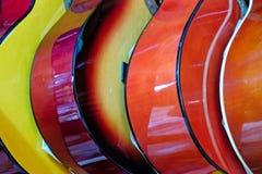 Κιθάρες για την πώληση στο μεγάλο Bazaar στη Ιστανμπούλ Στοκ Εικόνα
