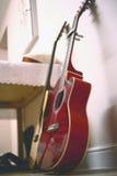 κιθάρες δύο Στοκ εικόνα με δικαίωμα ελεύθερης χρήσης