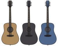 κιθάρες Στοκ Εικόνα