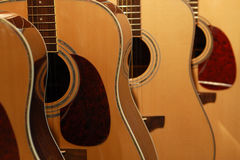 κιθάρες στοκ εικόνες