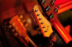 κιθάρες Στοκ εικόνες με δικαίωμα ελεύθερης χρήσης