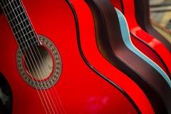κιθάρες Στοκ Φωτογραφίες
