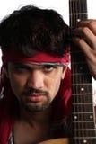 κιθαρίστας Ινδός Στοκ Εικόνα