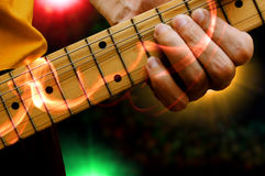 κιθαρίστας Στοκ φωτογραφία με δικαίωμα ελεύθερης χρήσης
