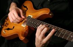 κιθαρίστας Στοκ φωτογραφίες με δικαίωμα ελεύθερης χρήσης