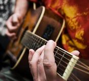 κιθαρίστας Στοκ Φωτογραφία