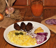 Κιμάς χοιρινού κρέατος Στοκ Εικόνα