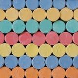 κιμωλία ζωηρόχρωμη Στοκ φωτογραφία με δικαίωμα ελεύθερης χρήσης