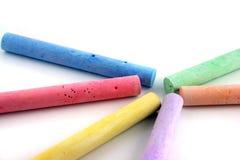 κιμωλίες 1 που χρωματίζον& Στοκ Φωτογραφία