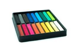 Κιμωλία που χρωματίζεται Στοκ Εικόνες