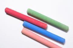 κιμωλίες που χρωματίζον&ta Στοκ φωτογραφία με δικαίωμα ελεύθερης χρήσης