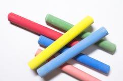 κιμωλίες που χρωματίζον&ta Στοκ εικόνα με δικαίωμα ελεύθερης χρήσης