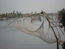 κινεζικά δίχτια του ψαρέματος Στοκ Φωτογραφίες