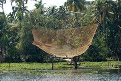 κινεζικά δίχτια του ψαρέματος E Στοκ Φωτογραφία