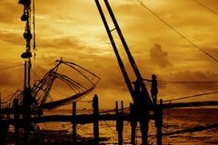 Κινεζικά δίχτυα Στοκ εικόνα με δικαίωμα ελεύθερης χρήσης