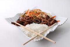 Κινεζικά ασιατικά τρόφιμα Στοκ εικόνες με δικαίωμα ελεύθερης χρήσης