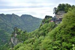 Κινεζικά βουνά Hubei Wudang Στοκ Εικόνες
