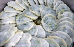 Κινεζικά βρασμένα στον ατμό πράσο επιδόρπια Στοκ φωτογραφία με δικαίωμα ελεύθερης χρήσης