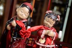 Κινεζικά γαμήλια ειδώλια στοκ εικόνες